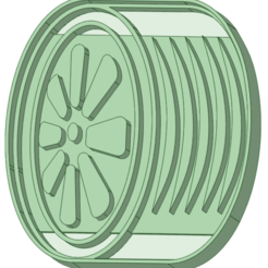 3.png Download STL file Tires x 3 cookie cutter • 3D print object, osval74