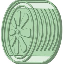 3.png Télécharger fichier STL Pneus x 3 emporte-pièce • Plan à imprimer en 3D, osval74