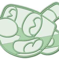 Descargar archivos 3D Mugman cookie cooter, osval74