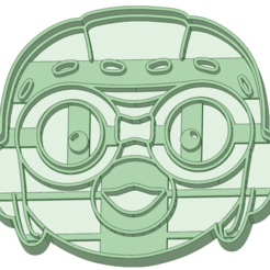 Pororo.png Download STL file Pororo cookie cutter • 3D printing model, osval74