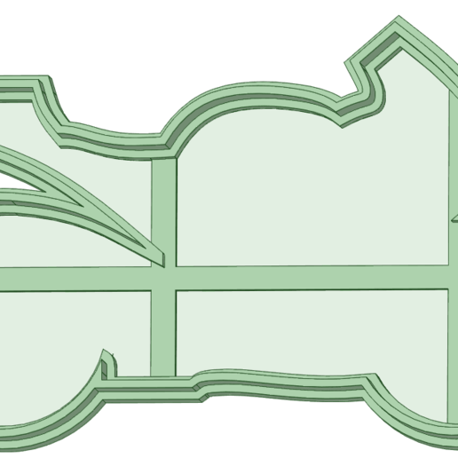 Download 3D printing templates Motorcycle cookie cutter, osval74