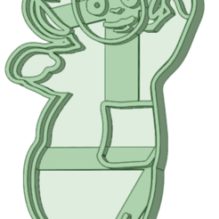 3_e.png Download STL file Teletubbies 3 whole cookie cutter • 3D printable model, osval74