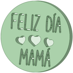 Feliz dia mama_e.png Download STL file Happy texturizing mommy day • 3D printer object, osval74