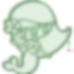 Download 3D model Sirenita Bebe cookie cutter, osval74