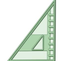 Escuadra_e.png Download STL file Cookie cutter utility square • 3D printer design, osval74