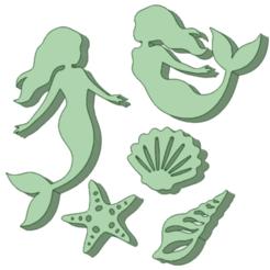 Download 3D printer templates Set stamp Mar, osval74
