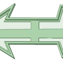 3D printer files Arrow cookie cutter, osval74