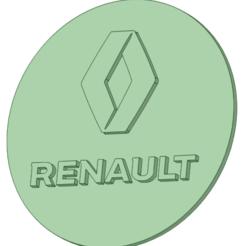 Stamp renault_e.png Télécharger fichier STL Timbre Renault • Objet imprimable en 3D, osval74