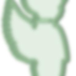 Descargar archivos STL Angelito nene cookie cutter, osval74