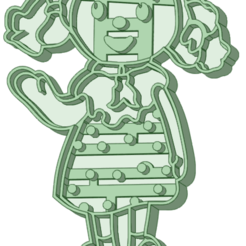 Nena_e.png Download STL file Andy Pandy Babe whole cookie cutter • 3D printer design, osval74