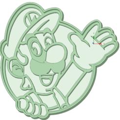 Download STL file Luigi cookie cutter, osval74