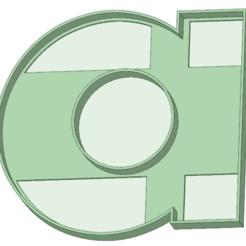 STL Vocales a-e-i-o-u cookie cutter, osval74