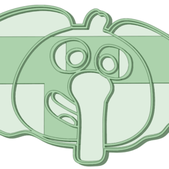 Blas_e.png Download STL file Blas Elephant cookie cutter • 3D printer object, osval74