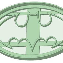 3D print model Batman logo cookie cutter, osval74