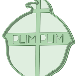 Download STL file Plim Plim contour cookie cutter • 3D printing design, osval74