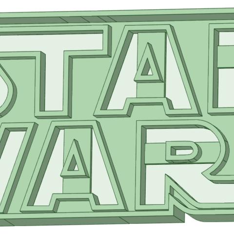 Descargar archivo 3D Star Wars Logo cookie cutter, osval74