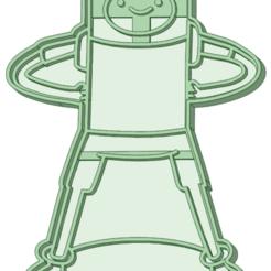 Finn_e.png Télécharger fichier STL L'emporte-pièce Finn • Modèle à imprimer en 3D, osval74