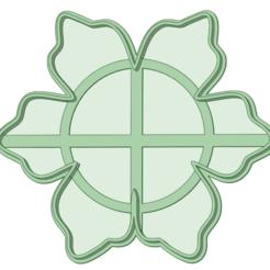 Copo_e.png Télécharger fichier STL Flocon de neige 3 moule à biscuits • Modèle pour impression 3D, osval74