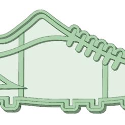 Télécharger plan imprimante 3D Emporte-pièce pour bottes de soccer, osval74