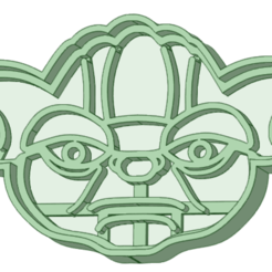 Download 3D printing models Yoda cookie cutter, osval74