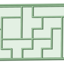 Download 3D printing models Tetris cookie cutter, osval74