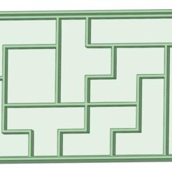 Télécharger modèle 3D Emporte-pièce à l'emporte-pièce Tetris, osval74