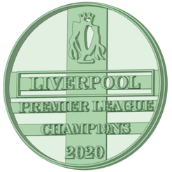 Download 3D printer files Liverpool championship pin 19/20 cookie cutter, osval74