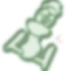 Download 3D printer model Little duck cookie cutter, osval74