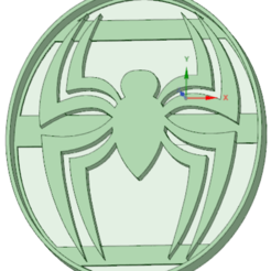 STL files Spider cookie cutter, osval74