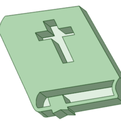 Biblia - copia.png Download STL file Stamp communion pack • 3D printing object, osval74