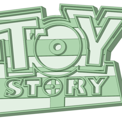 Toy Story logo.png Download STL file Toy Story Logo cookie cutter • 3D printing design, osval74