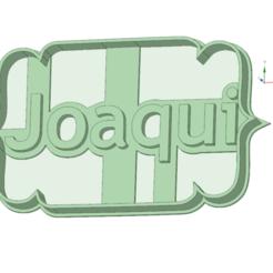 Download 3D printer files Joaqui cookie cutter, osval74