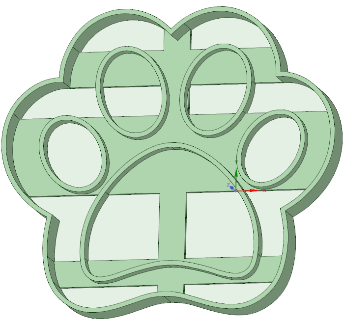Download Stl File Footprint 2 Paw Patrol Cookie Cutter Template To 3d Print Cults Here you can print free paw patrol coloring pages and please the child. cults 3d