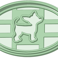 Download STL file Cookie cutter dog, osval74