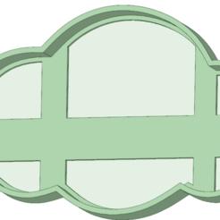 Fichier imprimante 3D Biscuit à l'emporte-pièce en nuage, osval74