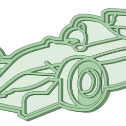 Formula 1.png Download STL file Formula 1 cookie cutter • 3D printable design, osval74