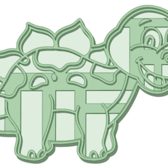 Dino 12_e.png Download STL file Dinosaurio 12 cookie cutter • 3D print design, osval74