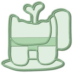 Muerto_e.png Télécharger fichier STL Parmi nous, un Cookie Cutter mort • Modèle pour impression 3D, osval74