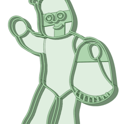 7_e.png Download STL file In the night garden 7 cookie cutter • 3D printer template, osval74