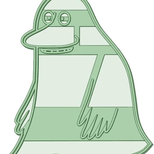 Télécharger fichier impression 3D L'emporte-pièce Groke Moomin, osval74