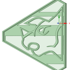 3D print files Pink Dino Charge Ranger Cookie cutter, osval74