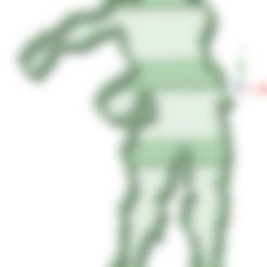 STL files Fortnite dance 1 cookie cutter, osval74