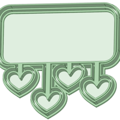 1_e.png Download STL file Poster cookie cutter hearts • 3D printing object, osval74