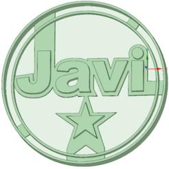 3D printing model Javi cookie cutter, osval74