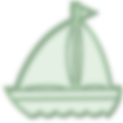 Download 3D print files Sailboat cookie cutter, osval74