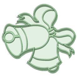 Plan imprimante 3D Cloches de Noël à l'emporte-pièce, osval74