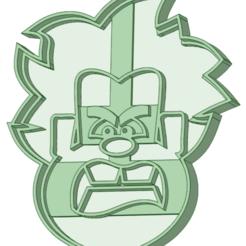 Descargar archivos 3D Ralph el demoledor 1 cookie cutter, osval74