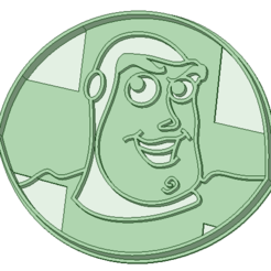 Impresiones 3D Buzz Lightyear cookie cutter, osval74