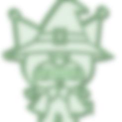 Download 3D printer templates Kuromi Halloween cookie cutter, osval74