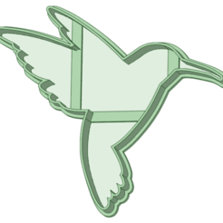 Colibri_e.png Télécharger fichier STL L'emporte-pièce du colibri • Design pour imprimante 3D, osval74